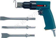 Пневматический отбойный молоток Bosch Pneumatic chisel hammer with case and chisel set Professional